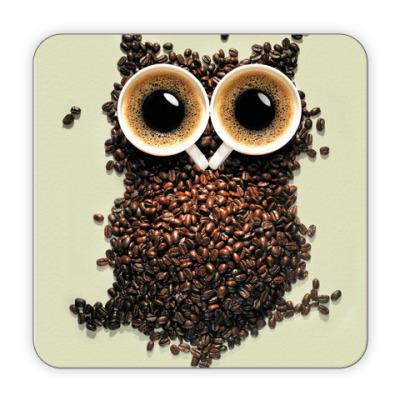 Костер (подставка под кружку) Крепкий кофе