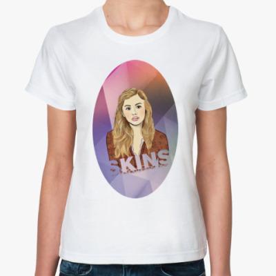 Классическая футболка Женская футболка CASSIE SKINS