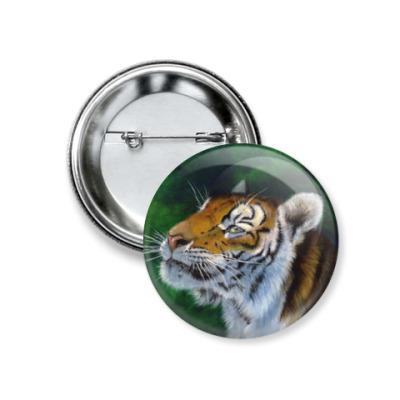 Значок 37мм Тигр