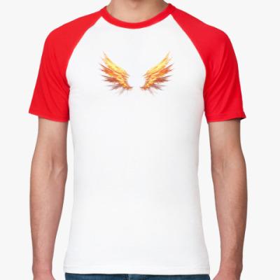 Футболка реглан Fire Wings