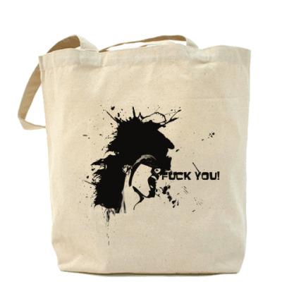 Сумка Fuck Холщовая сумка
