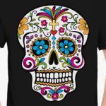 Мексиканский череп Calavera