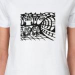 футболка «метро»