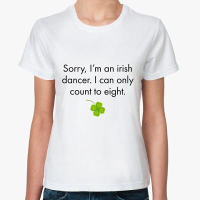 Классическая футболка Sorry