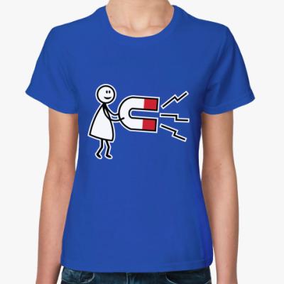 Женская футболка Парная футболка для влюблённых