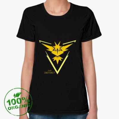 Женская футболка из органик-хлопка Team Instinct