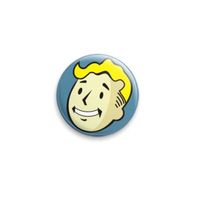 Значок 25мм Fallout