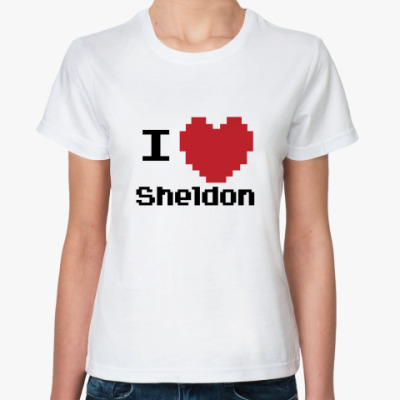 Классическая футболка Шелдон