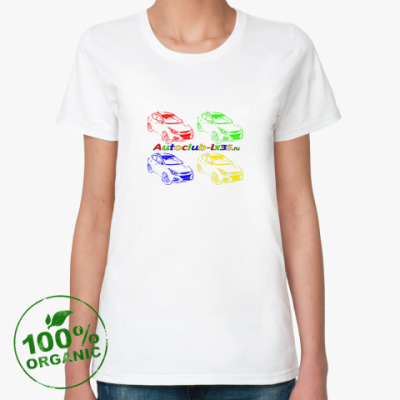 Женская футболка из органик-хлопка  органик (жен) ix35