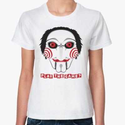 Классическая футболка  «Пила»