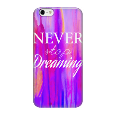 Чехол для iPhone 6/6s Newer stop dreaming