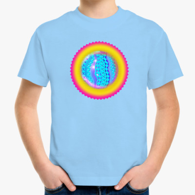 Детская футболка Волшебное Солнце