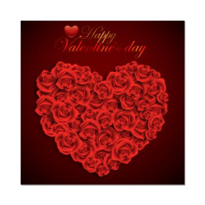 Наклейка (стикер) День Святого Валентина