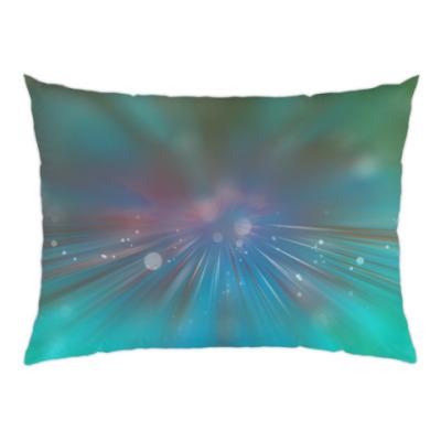 Подушка звездный взрыв, абстракция