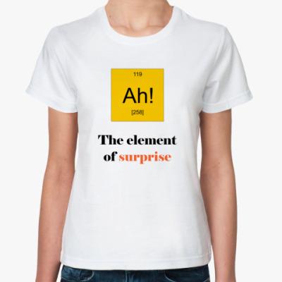 Классическая футболка  Ah!