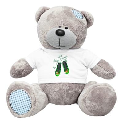 Плюшевый мишка Тедди I'm Irish Dancer