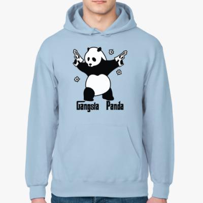 Толстовка худи Gangsta panda