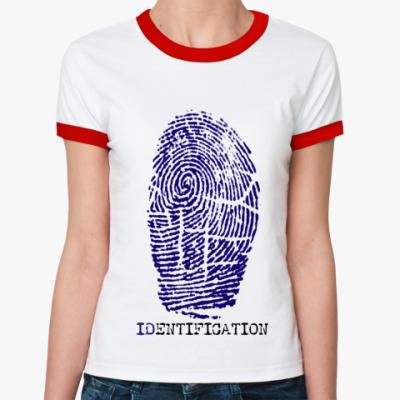 Женская футболка Ringer-T индефикация