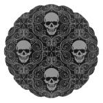 Готичный череп с улыбкой