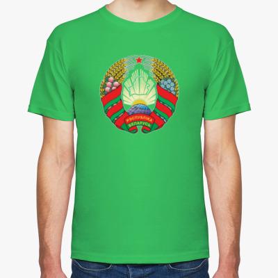 Футболка Беларусь. Государственный Герб