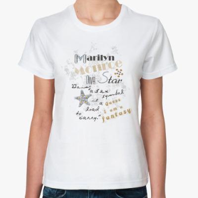 Классическая футболка Marilin