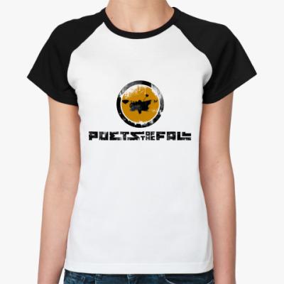 Женская футболка реглан Poets of the Fall  Жен