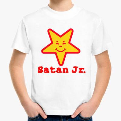 Детская футболка 'Satan Jr.'