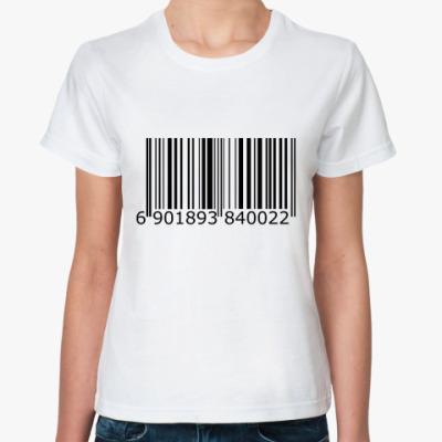 Классическая футболка штрих-код