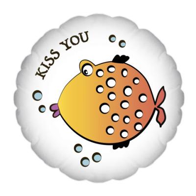 Подушка Kiss you