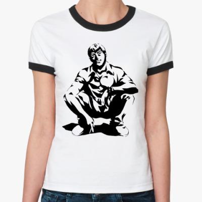 Женская футболка Ringer-T GTO