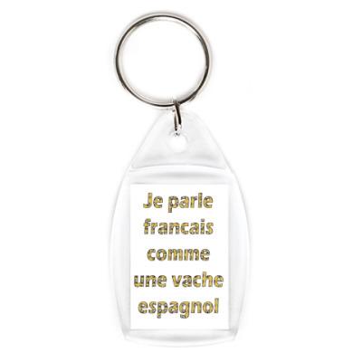 Брелок Parler francais