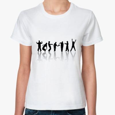 Классическая футболка  dance