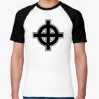 Футболка реглан Кельтский крест