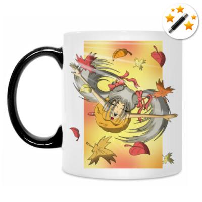 Кружка-хамелеон  'Осень'