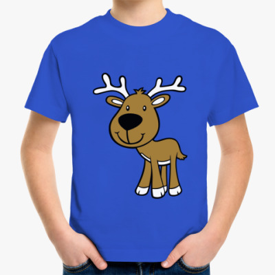 Детская футболка  Оленёнок