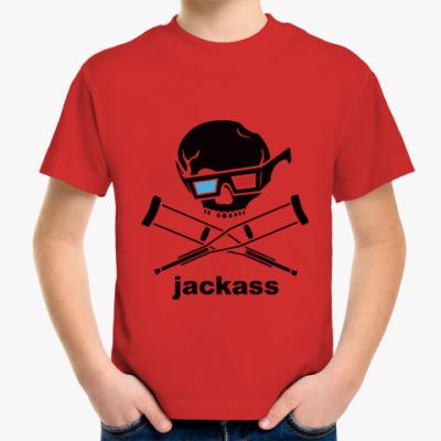 Детская футболка  Jackass 3d