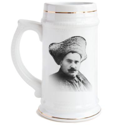 Пивная кружка Атаман Семёнов