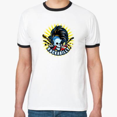 Футболка Ringer-T rockabilly