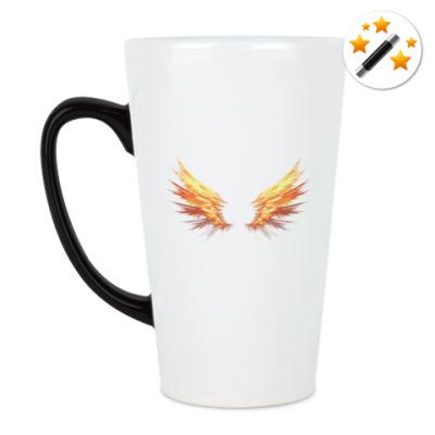 Кружка-хамелеон Fire Wings