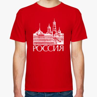 Футболка Кремль Москва