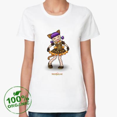 Женская футболка из органик-хлопка Бяяя!