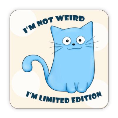 Костер (подставка под кружку) Кот Limited Edition