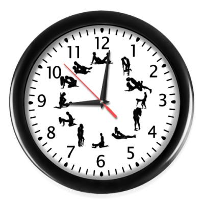 Настенные часы Сексуальные позы