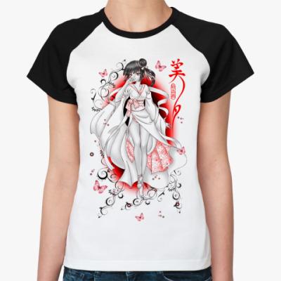 Женская футболка реглан Miyu