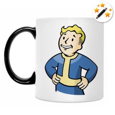 Кружка-хамелеон Pipboy (Fallout)