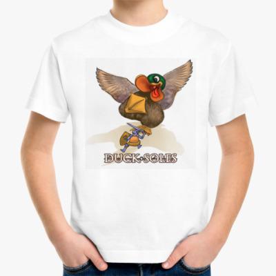 Детская футболка Duck Soles