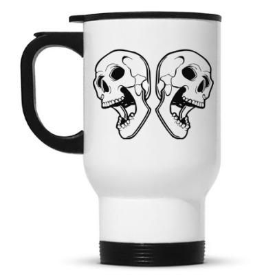 Кружка-термос Skulls