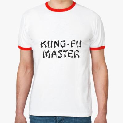 Футболка Ringer-T  Kung-Fu