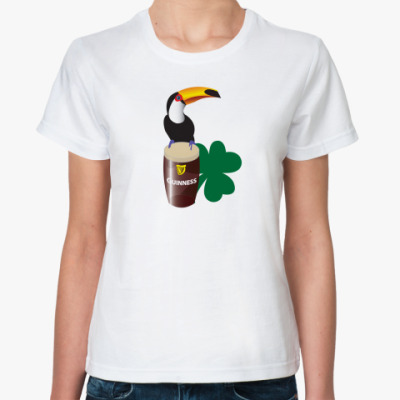 Классическая футболка Гиннес