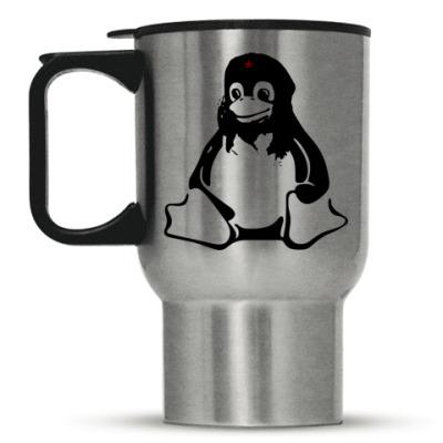 Кружка-термос Linux Che Guevara